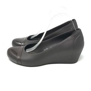 Crocs Wedge Slip-Ons